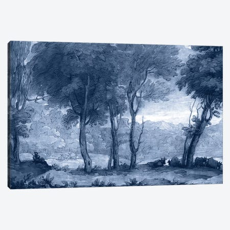 Pastoral Toile I Canvas Print #LOR1} by Claude Lorrain Art Print