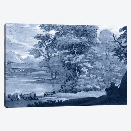 Pastoral Toile II Canvas Print #LOR2} by Claude Lorrain Canvas Print