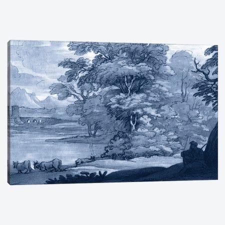 Pastoral Toile II Canvas Print #LOR2} by Claude Lorrain Canvas Print