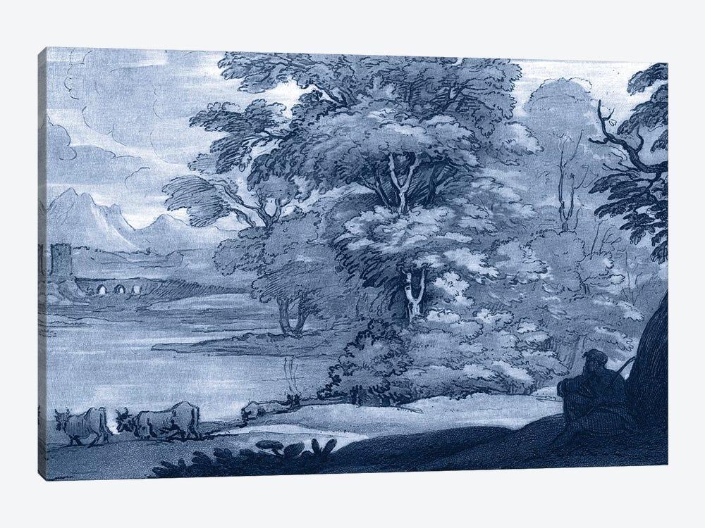 Pastoral Toile II by Claude Lorrain 1-piece Canvas Art