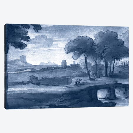 Pastoral Toile IV Canvas Print #LOR4} by Claude Lorrain Canvas Wall Art