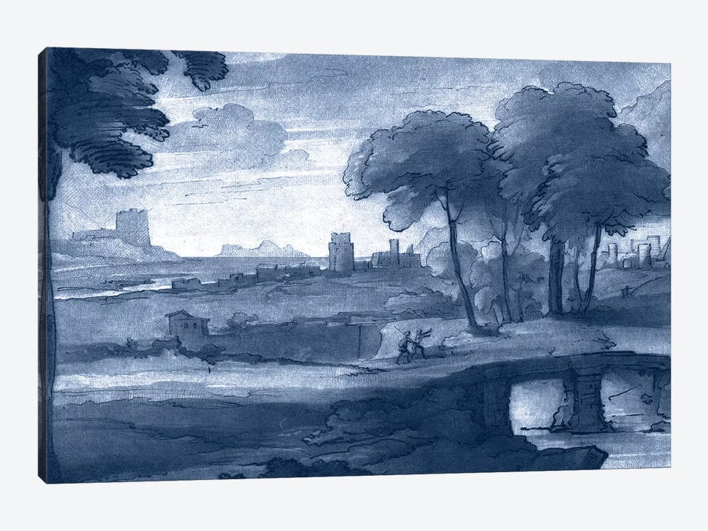 Pastoral Toile IV by Claude Lorrain 1-piece Canvas Wall Art