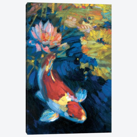 Asian Serenity I Canvas Print #LOS1} by Leif Ostlund Canvas Art