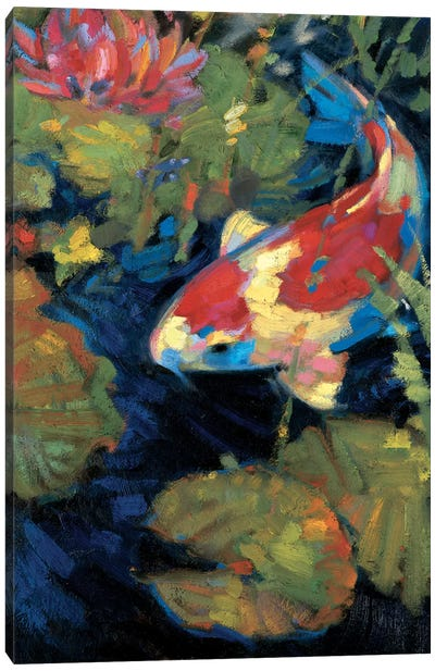 Asian Serenity II Canvas Art Print