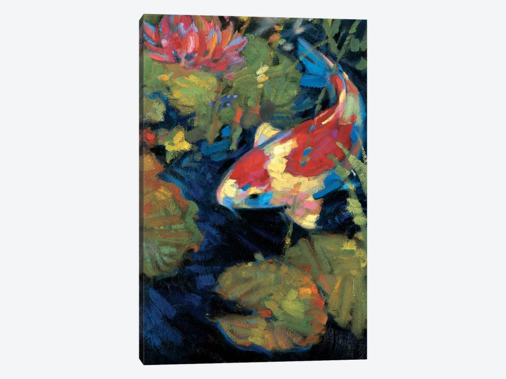 Asian Serenity II by Leif Ostlund 1-piece Canvas Print