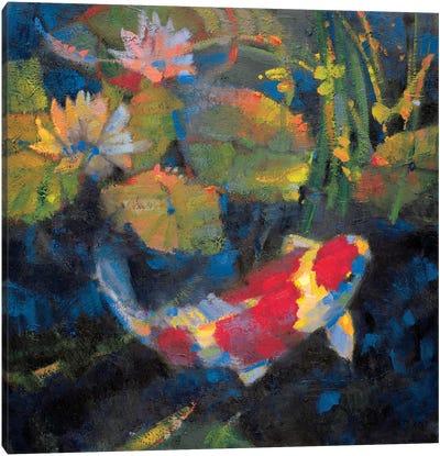 Water Garden I Canvas Art Print
