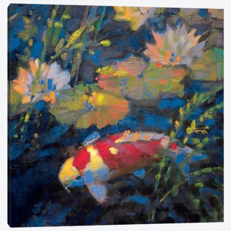 Water Garden II Canvas Print #LOS4} by Leif Ostlund Art Print