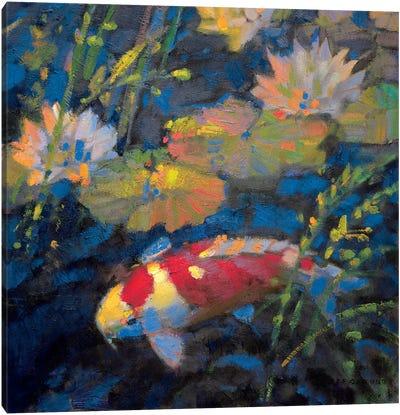 Water Garden II Canvas Art Print