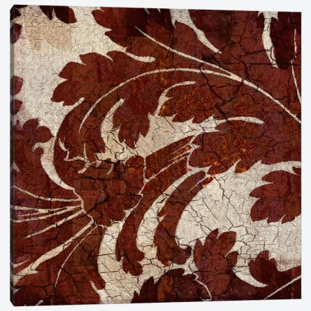 Crackled Tile II Canvas Print #LOU4} by Louise Montillio Art Print