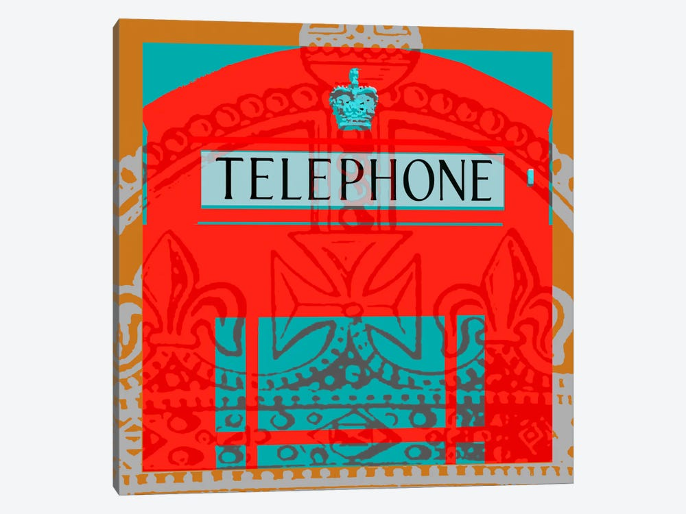 London Calling II by Louise Montillio 1-piece Art Print