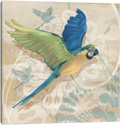 Parrot Society I Canvas Art Print