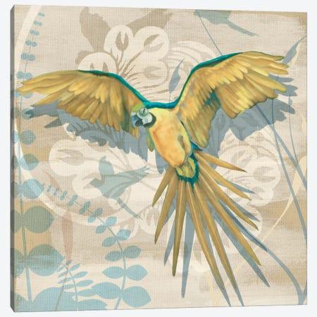 Parrot Society II Canvas Print #LOU8} by Louise Montillio Canvas Art