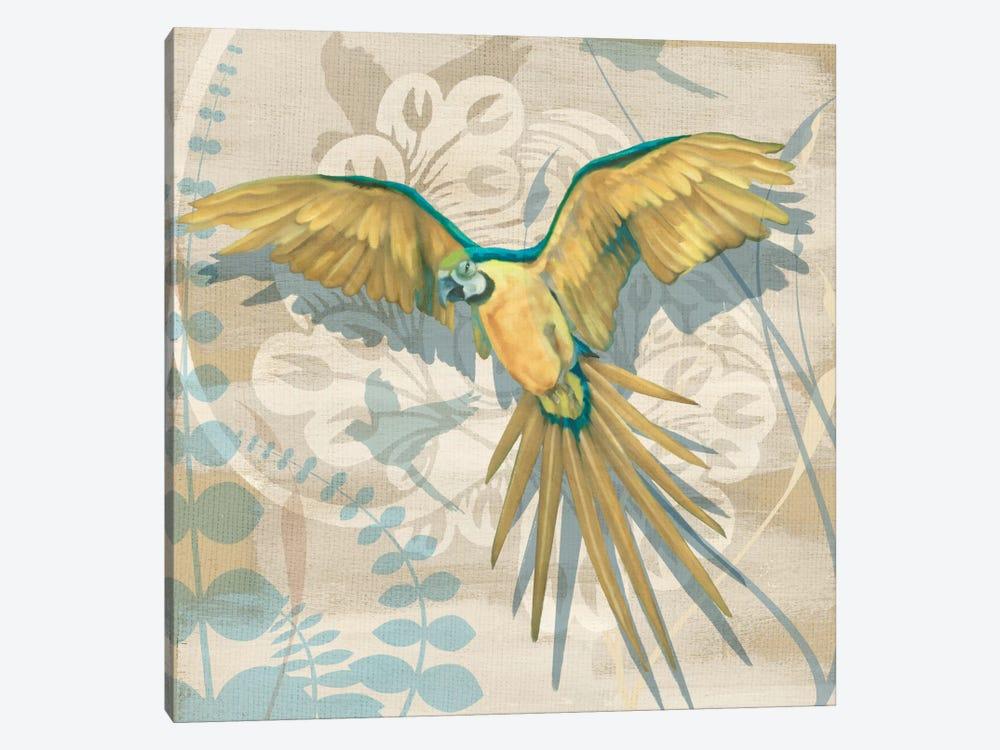 Parrot Society II by Louise Montillio 1-piece Canvas Art Print