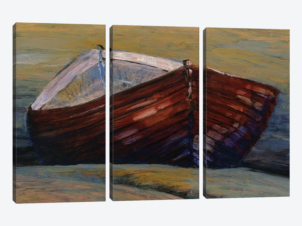 Elly Bay by Kent Lovelace 3-piece Canvas Print