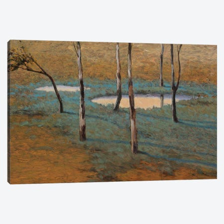 Marais Canvas Print #LOV4} by Kent Lovelace Canvas Artwork