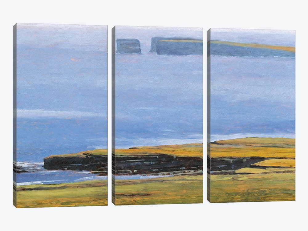 Patrick Head II by Kent Lovelace 3-piece Canvas Art