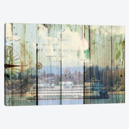 Puget Sound Canvas Print #LOY14} by Sandy Lloyd Canvas Print