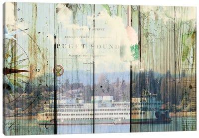 Puget Sound Canvas Art Print