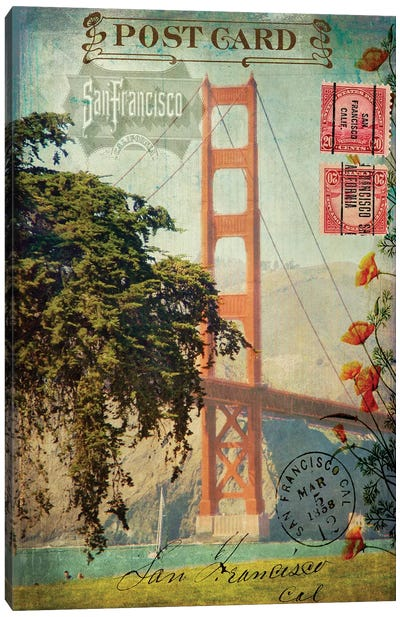 San Francisco, CA Canvas Art Print