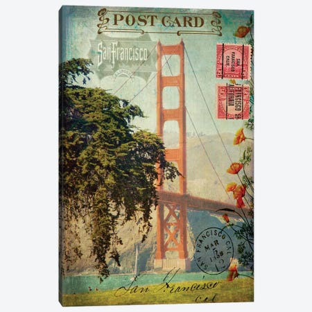 San Francisco, CA Canvas Print #LOY16} by Sandy Lloyd Canvas Print