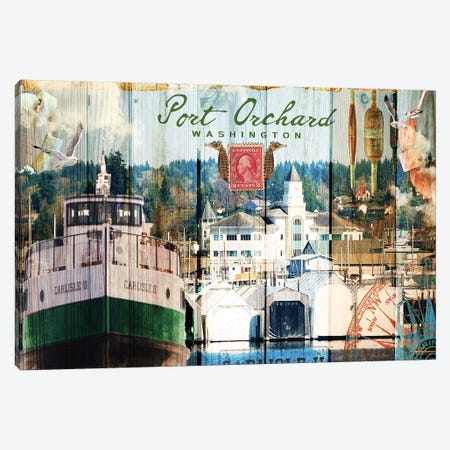 Taste of Port Orchard Canvas Print #LOY19} by Sandy Lloyd Canvas Wall Art