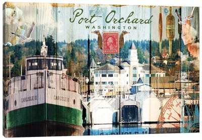 Taste of Port Orchard Canvas Art Print