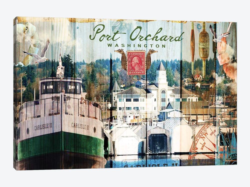 Taste of Port Orchard by Sandy Lloyd 1-piece Canvas Wall Art
