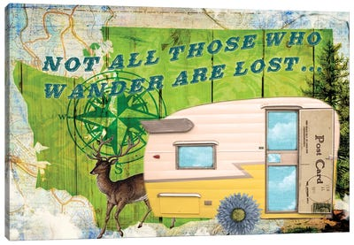 Those Who Wander Canvas Art Print