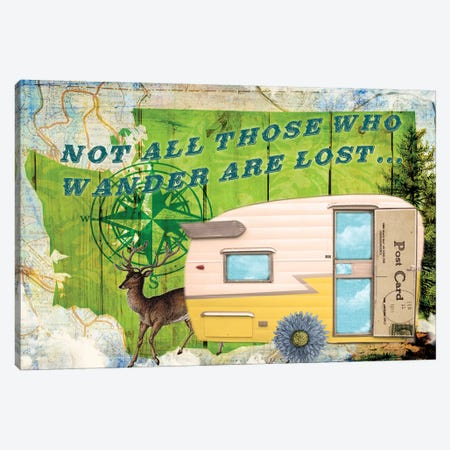 Those Who Wander Canvas Print #LOY20} by Sandy Lloyd Canvas Print