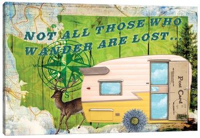 Those Who Wander Canvas Art Print