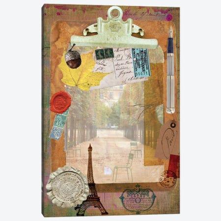 Collected Autumn III Canvas Print #LOY30} by Sandy Lloyd Canvas Artwork