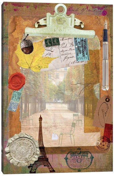 Collected Autumn III Canvas Art Print