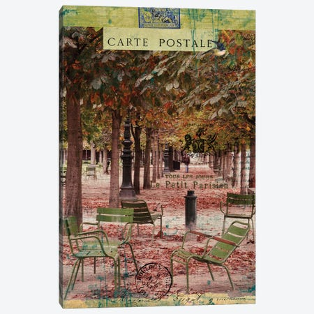 Collected Autumn IV Canvas Print #LOY31} by Sandy Lloyd Canvas Wall Art