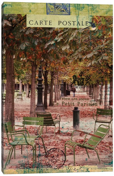 Collected Autumn IV Canvas Art Print