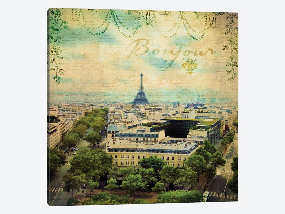 Eiffel Romance V by Sandy Lloyd 1-piece Art Print