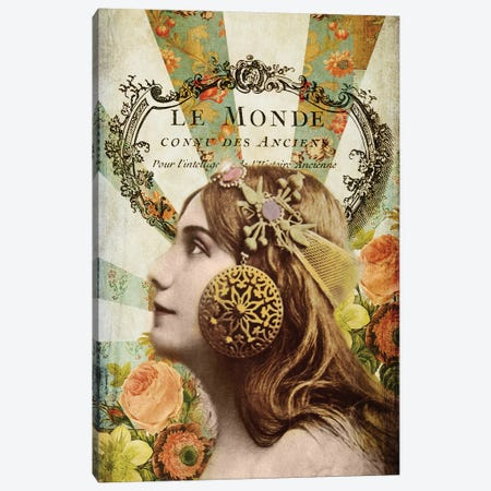 Femme Paris II Canvas Print #LOY41} by Sandy Lloyd Art Print