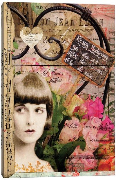 Femme Paris VI Canvas Art Print