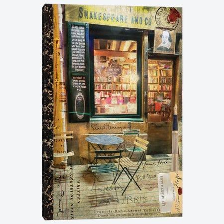 Paris Bistro II Canvas Print #LOY54} by Sandy Lloyd Canvas Art Print