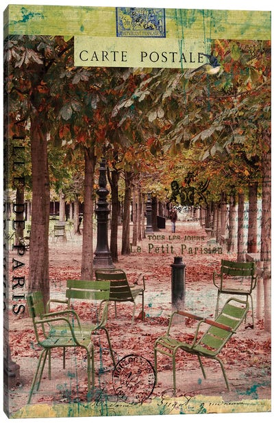 Paris Bistro IV Canvas Art Print