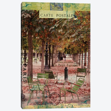 Paris Bistro IV 3-Piece Canvas #LOY56} by Sandy Lloyd Canvas Print