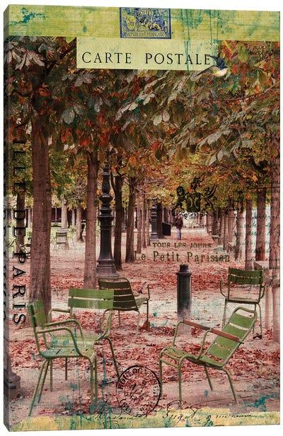 Paris Bistro IV Canvas Art Print