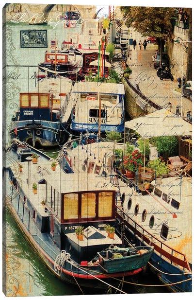 Postcards Of Paris X Canvas Art Print