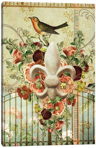 Postcards Of Paris XII Canvas Art Print