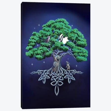 Large Tree Of Life Canvas Print #LPA10} by Lisa Parker Canvas Art Print