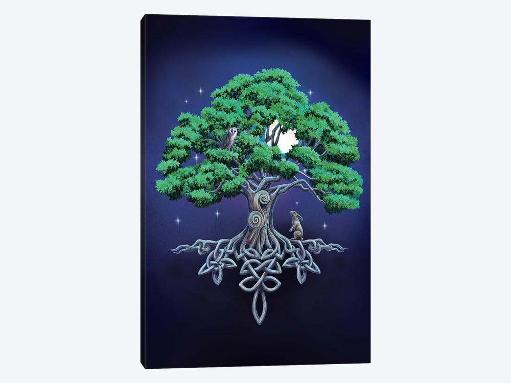 Large Tree Of Life by Lisa Parker 1-piece Canvas Wall Art