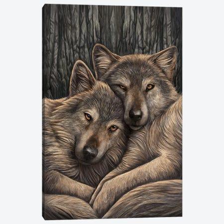 Loyal Companions Canvas Print #LPA11} by Lisa Parker Canvas Art Print
