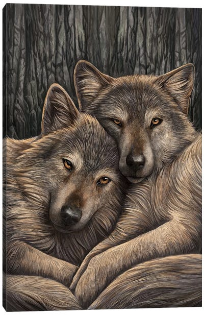 Loyal Companions Canvas Art Print
