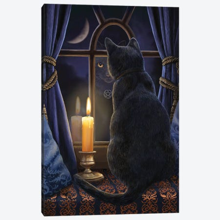 Midnight Vigil Canvas Print #LPA12} by Lisa Parker Canvas Print