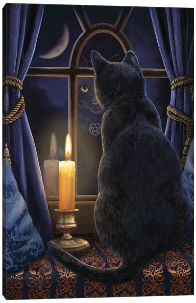 Midnight Vigil Canvas Art Print