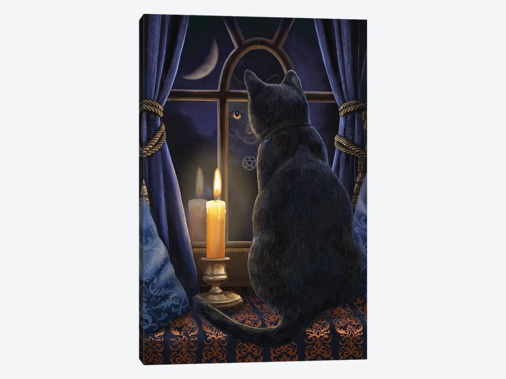 Midnight Vigil by Lisa Parker 1-piece Canvas Wall Art